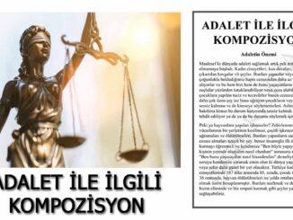 adalet-ile-ilgili-kompozisyon-yazı