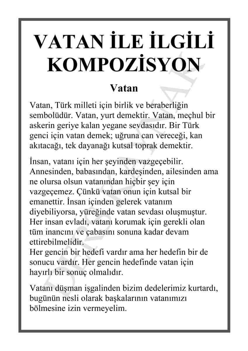 vatan-hakkında-kompozisyon